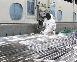 Lucidatura Profilati in Alluminio