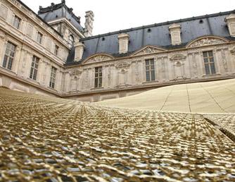 Ossidazione di brillantatura color oro a Parigi